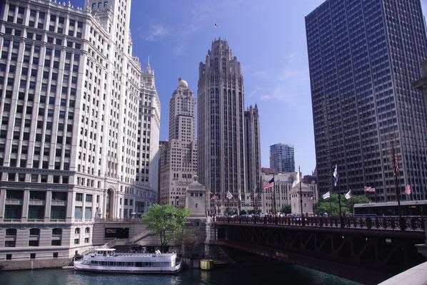C'est ici que démarre les tours en bateau sur le Lac Michigan et les canaux de Chicago !