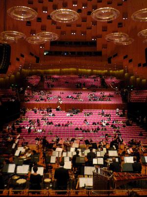 Soirée à l'opéra de Syndey ! Salle grandiose !