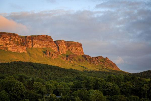 Vue le mont Benevenagh - Crédit Photo : Ireland Tourism -  Matthew WoodHouse