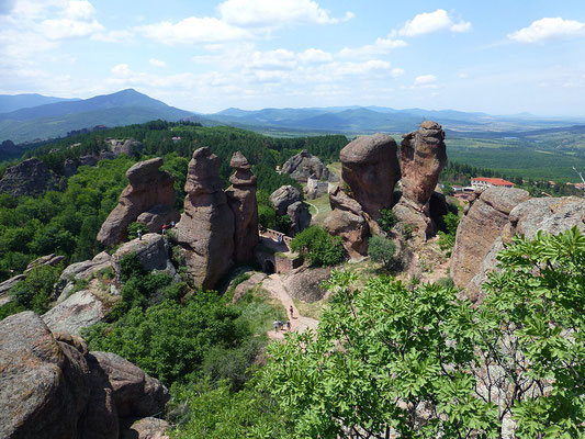 La forteresse de Belogradchik en Bulgarie ! By Gsborn (Own work) [CC BY-SA 3.0 (http://creativecommons.org/licenses/by-sa/3.0)], via Wikimedia Commons