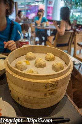 Manger des Dim Sum, spécialité chinoise