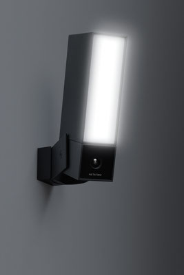 La caméra Presence de Netatmo intègre une lumière extérieur à LED / Crédit : Netatmo