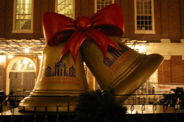 Les cloches géantes à Boston