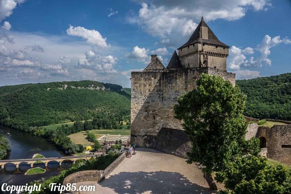Le château de Castelnaud et ses animations médiévales