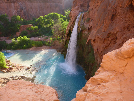 Havasu Falls Trail - Crédit photo : By Traveling Man (Own work) [CC BY-SA 3.0 (http://creativecommons.org/licenses/by-sa/3.0)], via Wikimedia Commons