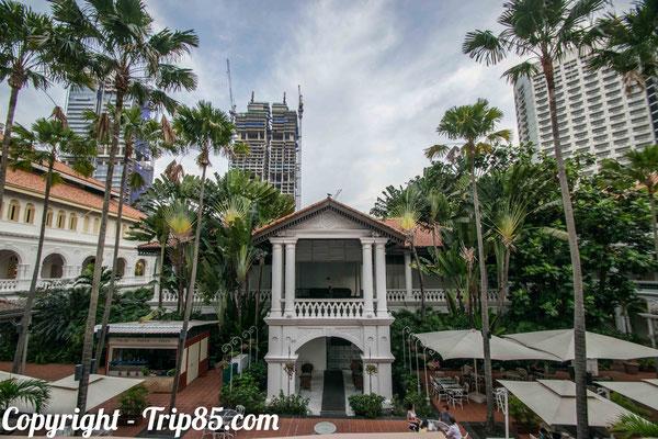 Visiter Singapour - Le Raffles