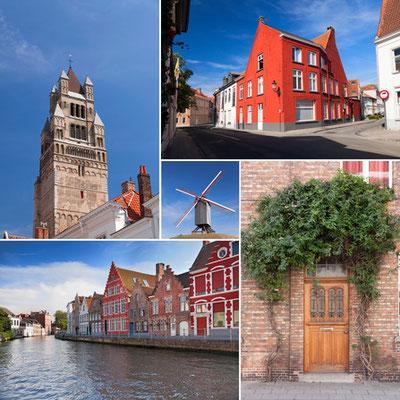 Méli Mélo de photos sur Bruges - Source : Photodune - Auteur : aragami12345