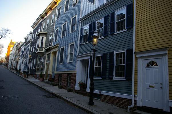Jolies résidences dans le quartier de Charlestown