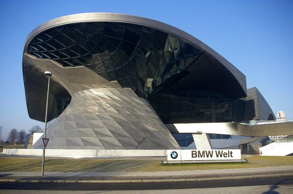 Le musée de BMW à Munich