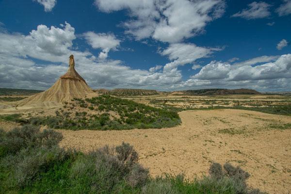 Les Bardenas reales offre un paysage de Far West Américain - By Trip85.com