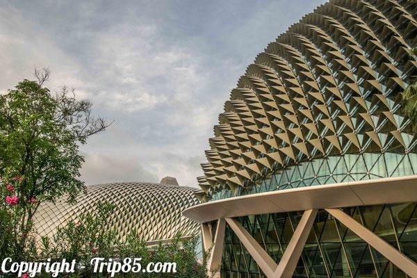 Visiter Singapour - Architecture moderne de Singapour
