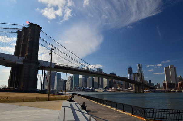 Le pont de Brooklyn à New York ! Crédit Photo : Trip85.com