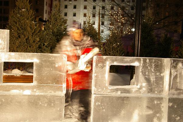 Concours de scurlpture sur glace ! Source : Trip85.com