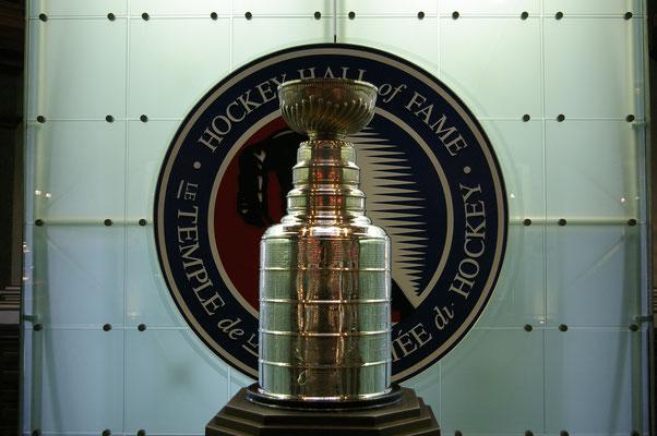 La Stanley Cup au Hockey Hall of Fame de Toronto
