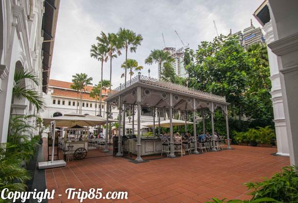 Dormir au mythique hotel : The Raffles de Singapour