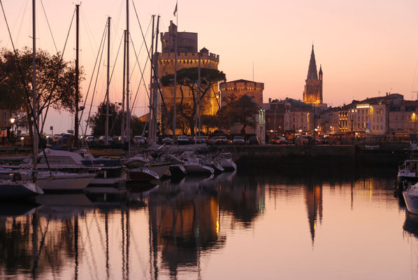 Bassin à flot soir - Francis Giraudon - OT La Rochelle