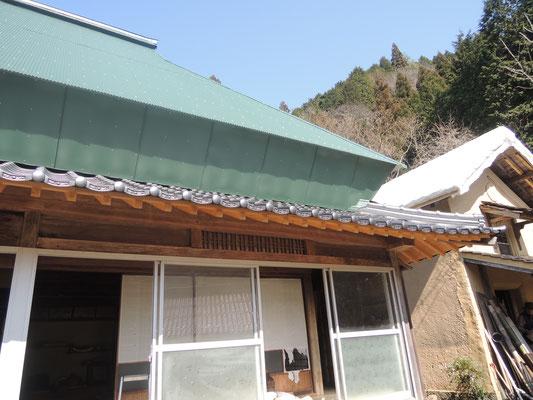 元々、茅葺きであり、瓦葺き。造られたときからこだわりのあるお家です。