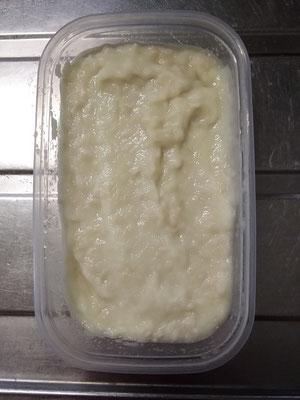 新玉ネギ塩麹。初めて作ったけど、これは絶対便利でしょう!