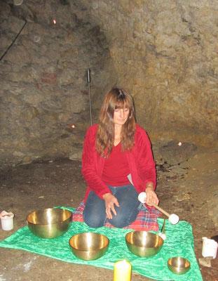 Klangmeditation - Klangkörperreise  in der Höhle Bruderloch