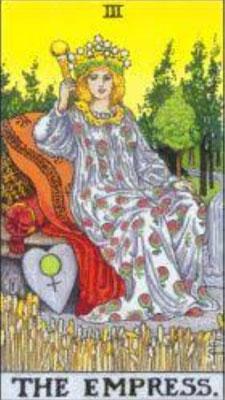 タロット大アルカナ女性