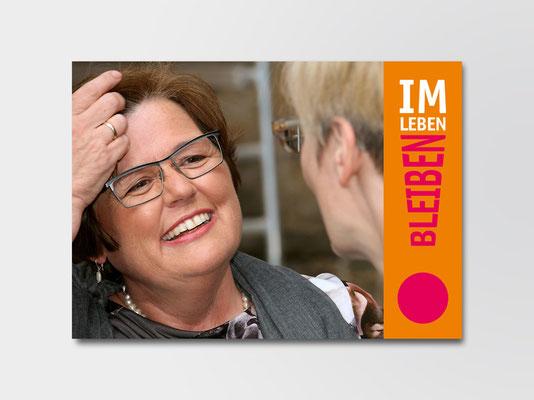 Nachbarschaftshilfe | Doppelkarte zum Ausfüllen | ©Andrea Osche – www.a-osche.de