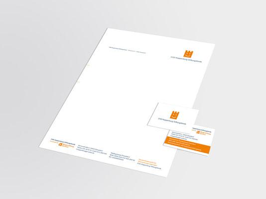 CHD-Koppenburg-Stiftungsfonds | Briefbogen | Visitenkarte