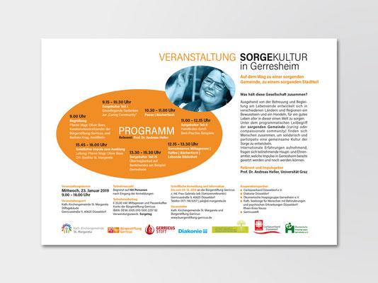 Bürgerstiftung Gerricus, Düsseldorf-Gerresheim | Seminarveranstaltung | Einladung und Info für Versand per Mail