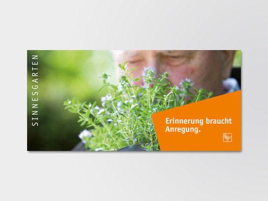 Bürgerstiftung Gerricus, Düsseldorf-Gerresheim | Spendenpostkarte für Projekte im Bereich »Senioren und Hospiz«