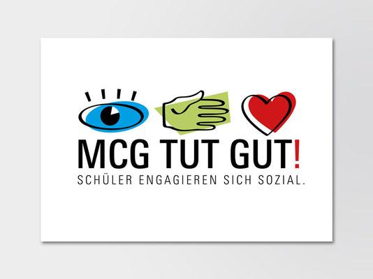 Marie-Curie-Gymnasium, Düsseldorf | Schulprojekt »MCG-TUT-GUT« | Logo