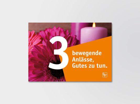 Spendenpostkarte