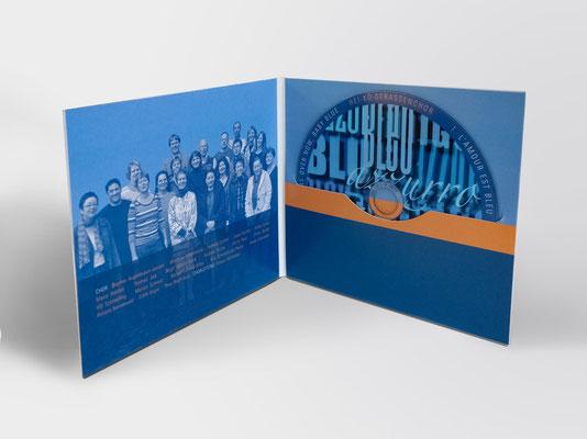 Gestaltung der Innenseiten inkl. CD
