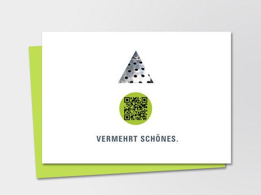 Andrea Osche Grafikdesign | Akquise-Postkarte