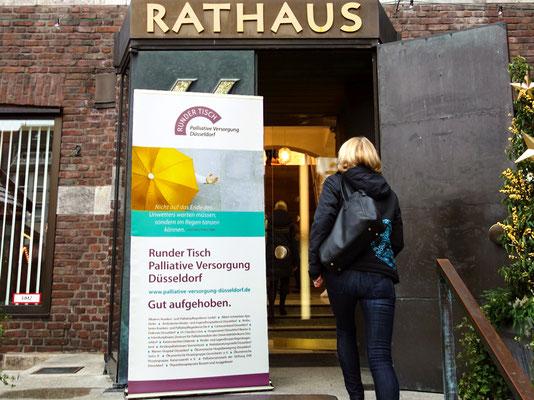 Runder Tisch Palliative Versorgung Düsseldorf | Veranstaltung am 19. November 2016 im Düsseldorfer Rathaus