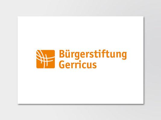 Bürgerstiftung Gerricus, Düsseldorf-Gerresheim | neue Wort-Bild-Marke