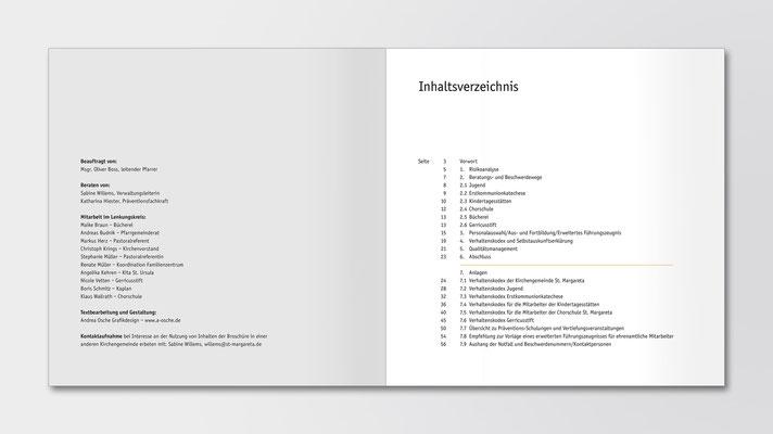 St. Margareta Düsseldorf-Gerresheim | Broschüre | Institutionelles Schutzkonzept