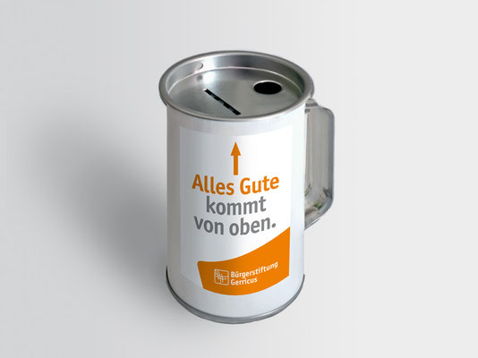 Spendendose | ©Andrea Osche – www.a-osche.de