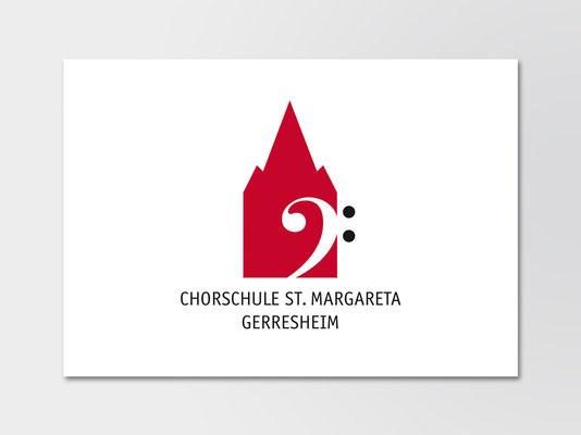 2014 | Logo für den Nachwuchschor der Kirchengemeinde St. Margareta, Düsseldorf