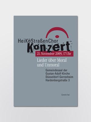 Hei-Kö-Chor | Konzert | Plakat