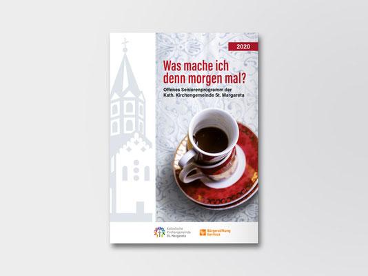 St. Margareta Düsseldorf-Gerresheim | Broschüre | Seniorenprogramm | Titelseite