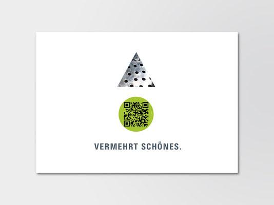 Andrea Osche Grafikdesing | Eigenwerbung | Postkarte