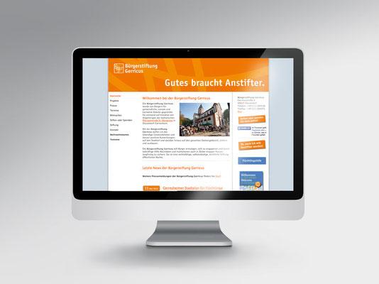 neuer Header der Bürgerstiftung Gerricus-Website | ©Andrea Osche – www.a-osche.de