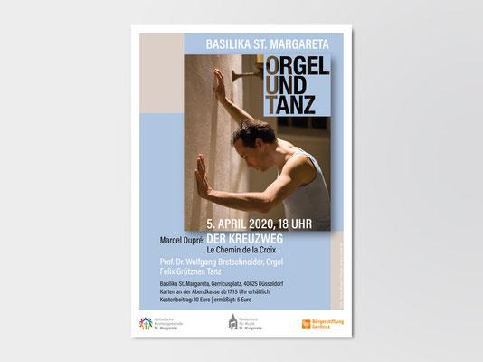 2020 | St. Margareta Düsseldorf-Gerresheim | Veranstaltungsplakat