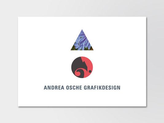 Wort-Bildmarke Andrea Osche Grafikdesign