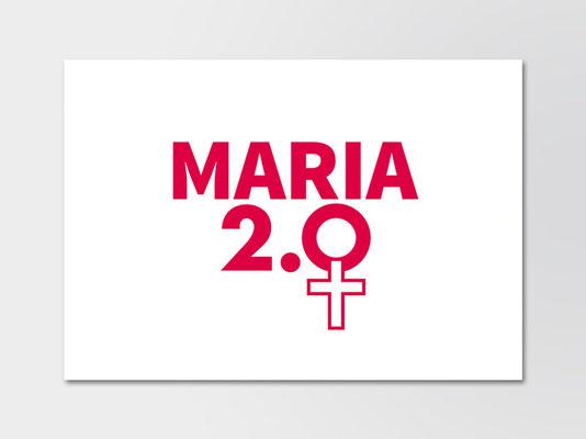 Maria 2.0 | Logo