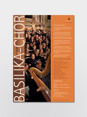 Basilika-Chor St. Margareta, Düsseldorf | Porträt des Chores | Plakat