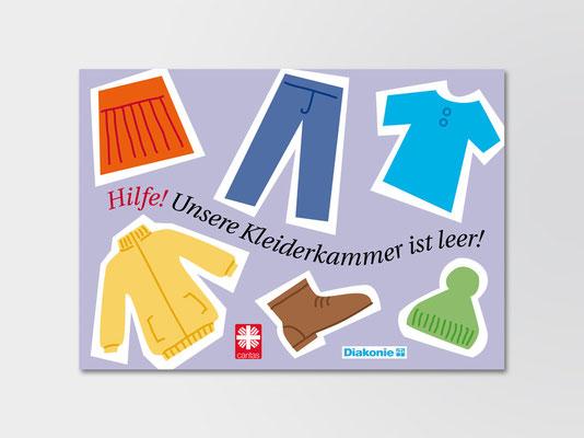 Diakonie Düsseldorf | Kleiderkammer | Postkarte