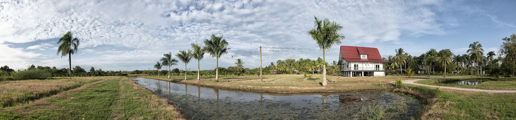 Voormalige koffie en cacaoplantage Frederiksdorp te Suriname ( 2019 )