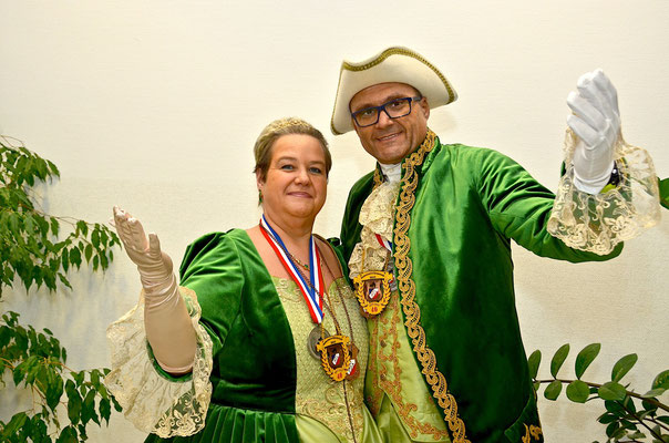 Offizielles Bild Unser  Landesprinzenpaar 2018 Claudia II und Thomas III von Staplerburg (c) Faschingsgilde Traiskirchen