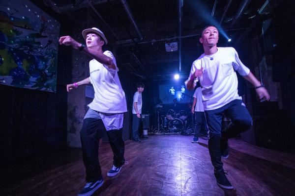 2018.8.25MU+NICK+MACHA+HANPEN @仙台CLUB SHAFT