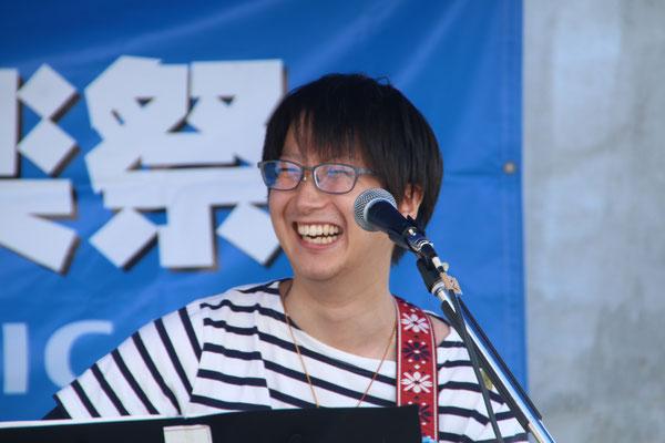 2017.8.27カーテレフォン草刈(それいけ!うさハム副鼻腔炎) @第14回トリコローレ音楽祭